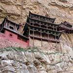 Why would you build a monastery 90m up the side of a cliff?