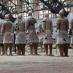 This is the Terracotta Hospital! Figures are painstakingly restored as new fragments are found
