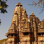 Temples of Khajuraho, built in the tenth and eleventh centuries...