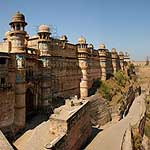 Panoramic view of Gwalior