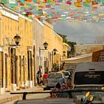 Izamal, near Merida. The whole town centre is painted yellow...