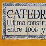 that's not a mistake - the spanish for cathedral is catedral