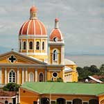 The best view is from La Merced's bell tower...