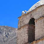Village church on the Colca Canyon trek