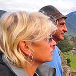 Sue and Mitch. Experienced, charming 'happy travellers'. Sharing Machu Picchu with them made it a really special experience.