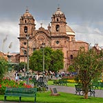 Cusco in the rain